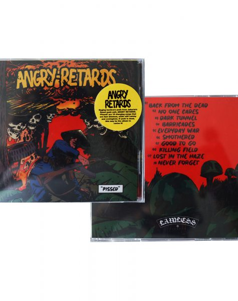 Angry Retards – Pissed CD