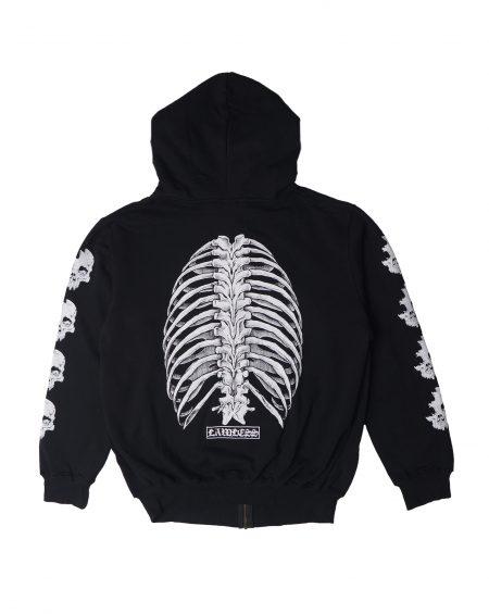 Lawless – Bones Breathen Zip Hoodie