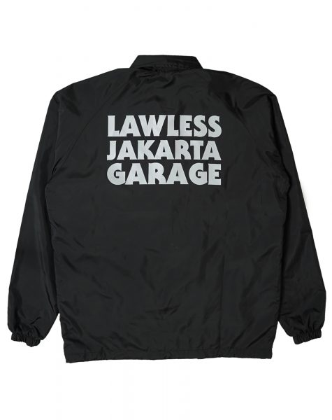 Lawless Garage – Logo Type Windbreaker
