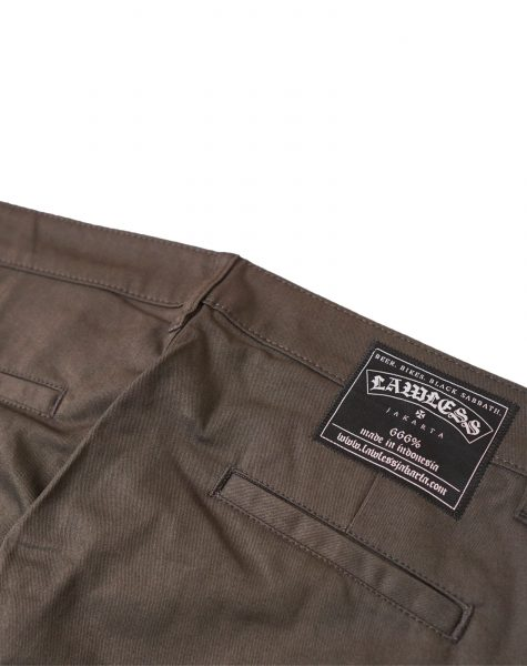 Lawless – Snarl Chino Pants Grey