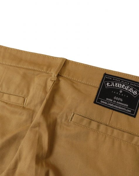 Lawless – Snarl Chino Pants Brown