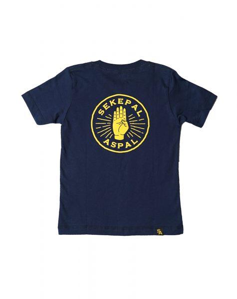 Sekepal Aspal – Hand Logo Kids Navy